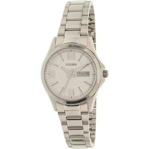 Citizen Women's EQ0591-56A Silver Stainless-Steel Quartz Watch