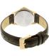 Citizen Women's EQ0593-00P Gold Leather Quartz Watch - Back Image Swatch