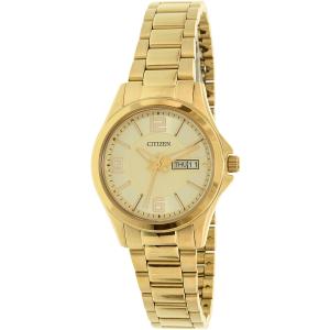 Citizen Women's EQ0593-51P Gold Stainless-Steel Quartz Watch