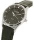 Citizen Women's ER0201-05E Silver Leather Quartz Watch - Side Image Swatch