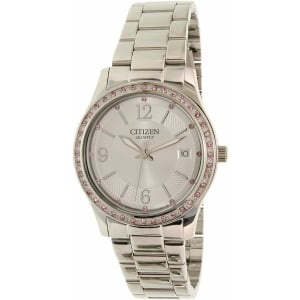 Citizen Women's EV0040-59A Silver Stainless-Steel Quartz Watch