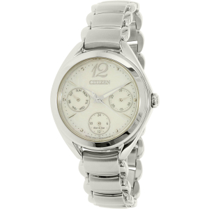 Citizen Women's Eco-Drive FD2020-54D Silver Stainless-Steel Eco-Drive Watch