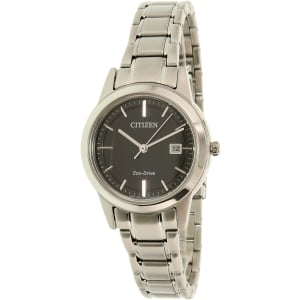 Citizen Women's Eco-Drive FE1081-59E Silver Stainless-Steel Eco-Drive Watch