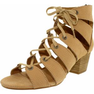 Lucky Women's Genevie Nubuck Mid-Calf Leather Sandal