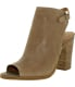 Lucky Women's Lisza Leather Mid-Calf Leather Pump - Main Image Swatch
