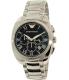 Emporio Armani Men's Dress AR1938 Silver Stainless-Steel Quartz Watch - Main Image Swatch