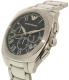 Emporio Armani Men's Dress AR1938 Silver Stainless-Steel Quartz Watch - Side Image Swatch