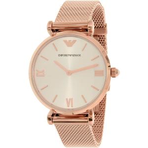 Emporio Armani Women's Retro AR1956 Rose Gold Stainless-Steel Quartz Watch