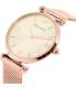 Emporio Armani Women's Retro AR1956 Rose Gold Stainless-Steel Quartz Watch - Side Image Swatch