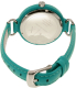 Armani Exchange Women's Madeline AX4234 Turquoise Leather Quartz Watch - Back Image Swatch