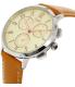 Fossil Women's Abilene CH3014 Brown Leather Quartz Watch - Side Image Swatch