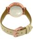 Fossil Women's Jacqueline ES3943 Cream Leather Quartz Watch - Back Image Swatch