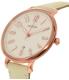 Fossil Women's Jacqueline ES3943 Cream Leather Quartz Watch - Side Image Swatch