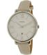 Fossil Women's Jacqueline ES4020SET Silver Leather Quartz Watch - Main Image Swatch