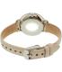 Fossil Women's Jacqueline ES4020SET Silver Leather Quartz Watch - Back Image Swatch