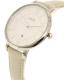 Fossil Women's Jacqueline ES4020SET Silver Leather Quartz Watch - Side Image Swatch