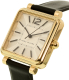Marc By Marc Jacobs Women's Vic MJ1437 Gold Leather Quartz Watch - Side Image Swatch
