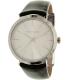Michael Kors Women's Kempton MK2483 Silver Leather Quartz Watch - Main Image Swatch