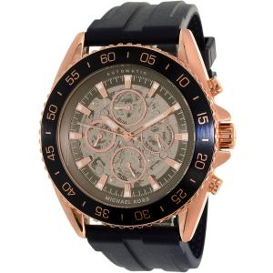 Michael Kors Men's Jetmaster MK9025 Blue Resin Automatic Watch