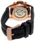 Michael Kors Men's Jetmaster MK9025 Blue Resin Automatic Watch - Back Image Swatch