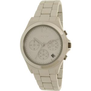 Dkny Women's Parsons NY2443 Beige Ceramic Quartz Watch