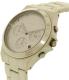 Dkny Women's Parsons NY2443 Beige Ceramic Quartz Watch - Side Image Swatch