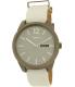 Dkny Women's Bryant Park NY2445 White Leather Quartz Watch - Main Image Swatch