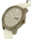 Dkny Women's Bryant Park NY2445 White Leather Quartz Watch - Side Image Swatch