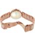 Dkny Women's Stanhope NY2461 Beige Ceramic Quartz Watch - Back Image Swatch