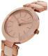 Dkny Women's Stanhope NY2461 Beige Ceramic Quartz Watch - Side Image Swatch
