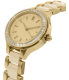 Dkny Women's Chambers NY2467 Beige Stainless-Steel Quartz Watch - Side Image Swatch