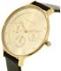 Skagen Women's Anita SKW2393 Black Leather Quartz Watch - Side Image Swatch