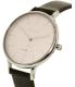 Skagen Women's Anita SKW2415 Black Leather Quartz Watch - Side Image Swatch