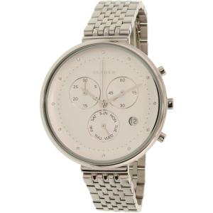 Skagen Women's Gitte SKW2419 Silver Stainless-Steel Quartz Watch
