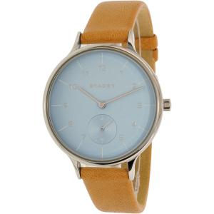 Skagen Women's Anita SKW2433 Brown Leather Quartz Watch