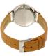 Skagen Women's Anita SKW2433 Brown Leather Quartz Watch - Back Image Swatch