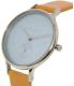 Skagen Women's Anita SKW2433 Brown Leather Quartz Watch - Side Image Swatch