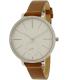 Skagen Women's Hagen SKW2434 Brown Leather Quartz Watch - Main Image Swatch