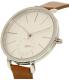 Skagen Women's Hagen SKW2434 Brown Leather Quartz Watch - Side Image Swatch