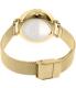 Skagen Women's Hagen SKW2436 Gold Stainless-Steel Quartz Watch - Back Image Swatch