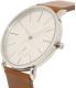 Skagen Men's Hagen SKW6273 Brown Leather Quartz Watch - Side Image Swatch