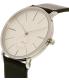 Skagen Men's Hagen SKW6274 Black Leather Quartz Watch - Side Image Swatch