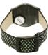 Swatch Women's Gent GB293 Black Nylon Swiss Quartz Watch - Back Image Swatch