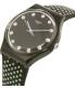 Swatch Women's Gent GB293 Black Nylon Swiss Quartz Watch - Side Image Swatch