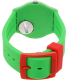 Swatch Women's Gent GG220 Green Silicone Swiss Quartz Watch - Back Image Swatch