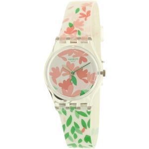 Swatch Women's Lady LK355 Pink Rubber Swiss Quartz Watch
