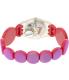 Swatch Girl's Lady LK357B Pink Plastic Swiss Quartz Watch - Back Image Swatch