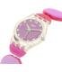 Swatch Girl's Lady LK357B Pink Plastic Swiss Quartz Watch - Side Image Swatch