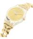 Swatch Women's Lady LK358G Gold Stainless-Steel Swiss Quartz Watch - Side Image Swatch