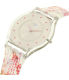 Swatch Girl's Classic SFE102 Clear Silicone Swiss Quartz Watch - Side Image Swatch